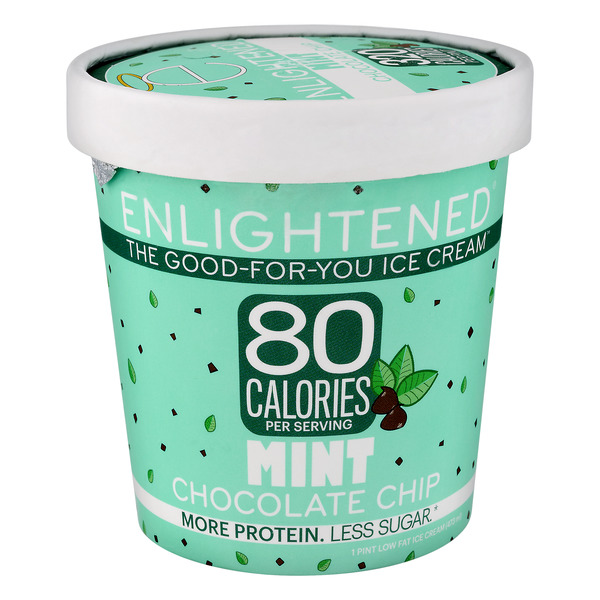 Enlightened The Good For You Ice Cream Mint Chocolate Chip