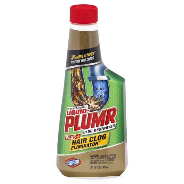 Liquid-Plumr Pro-Strength Clog Destoyer Hair Clog Eliminator