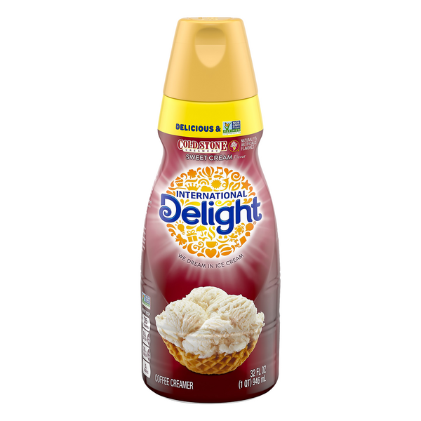 International Delight Cold Stone Coffee Creamer Sweet Cream Refrigerated