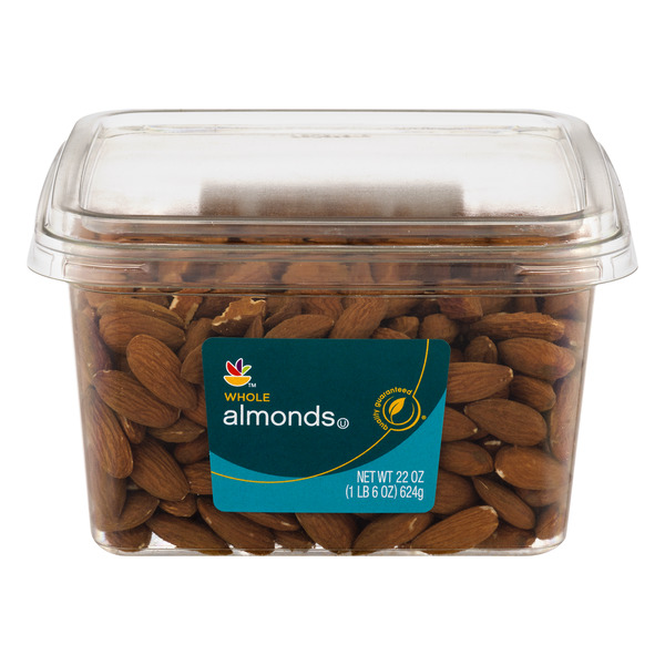 Giant Almonds Whole