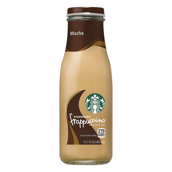 Starbucks Frappuccino Chilled Coffee Drink Mocha