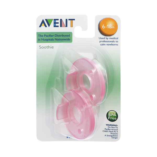 Philips Avent Pacifier BPA Free - 6-18m