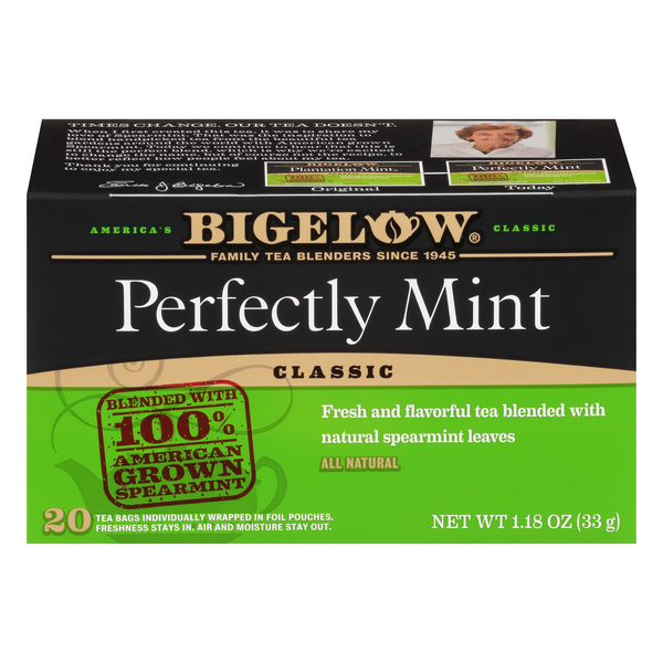 Bigelow Perfectly Mint Black Tea Bags