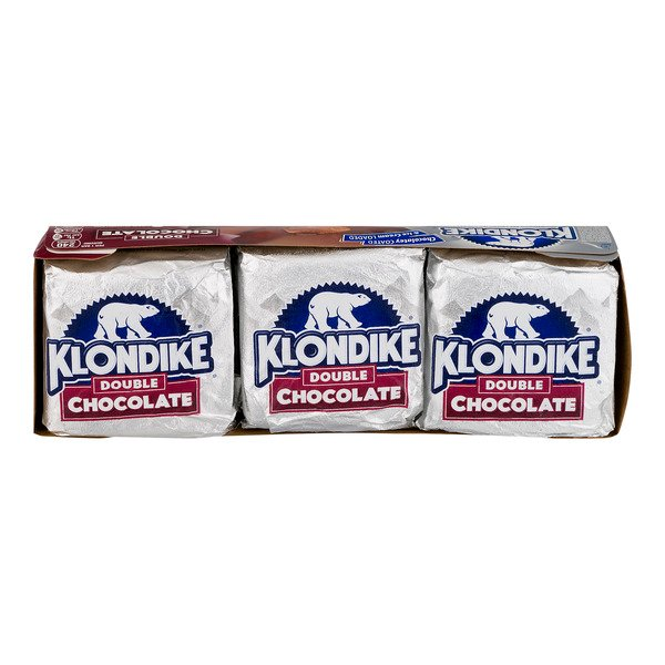 Klondike Ice Cream Bars Double Chocolate - 6 ct