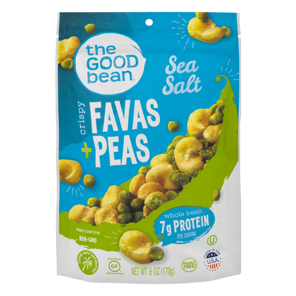The Good Bean Crispy Favas + Peas Sea Salt