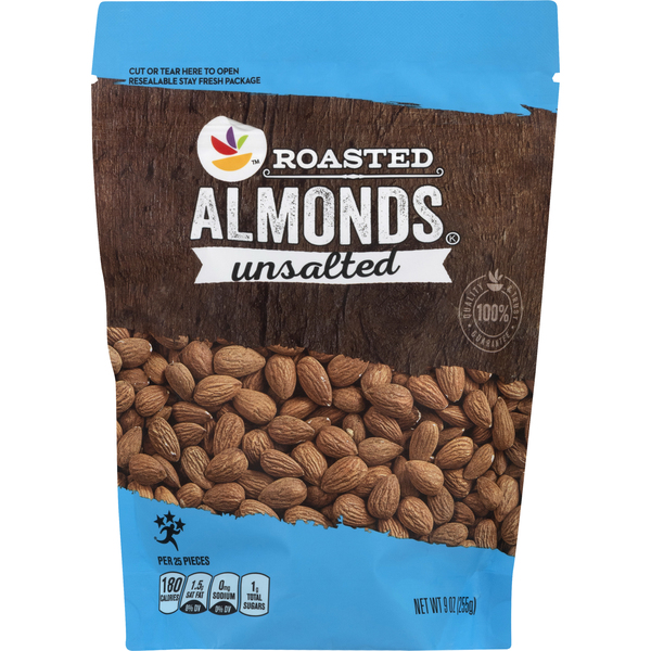 Giant Almonds Dry Roasted Unsalted