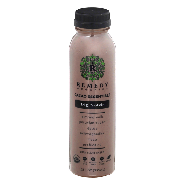 Remedy Organics 100% Plant Based Cacao Essentials Beverage