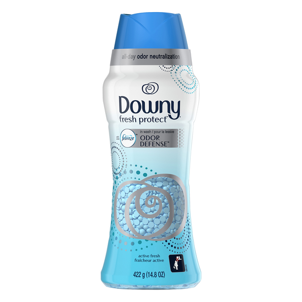 Downy Odor Defense In-Wash Scent Booster Active Fresh