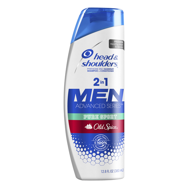 Head & Shoulders Men Pure Sport 2-In-1 Shampoo & Conditioner Old Spice