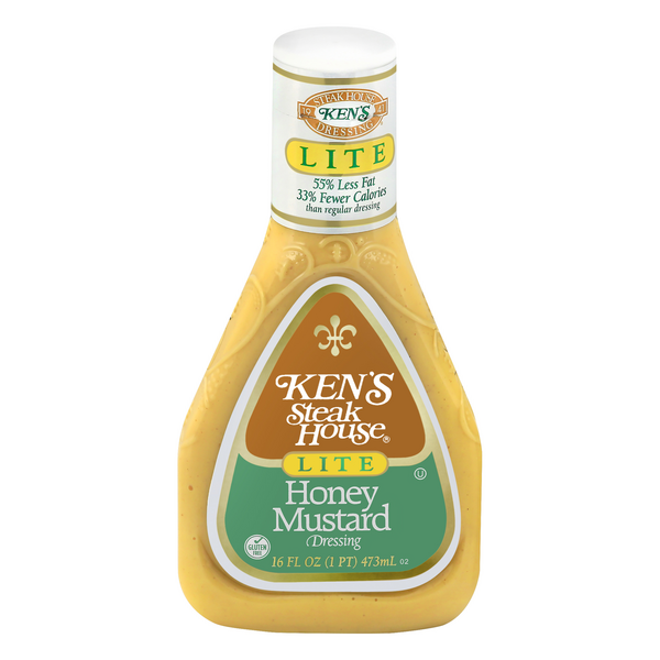 Ken's Dressing Honey Mustard Lite
