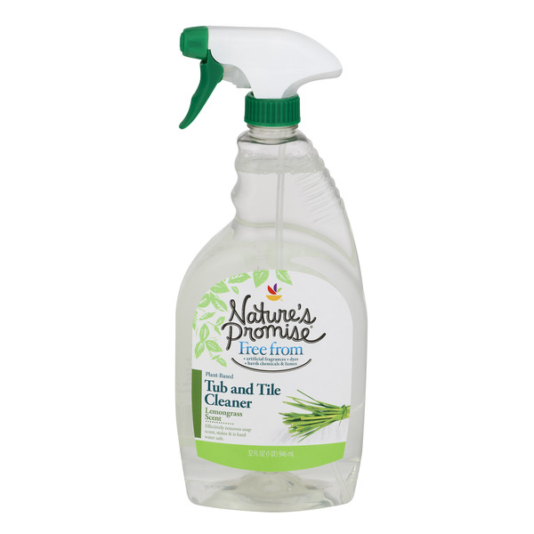 Nature's Promise Plant Based Tub & Tile Cleaner Lemongrass Scent