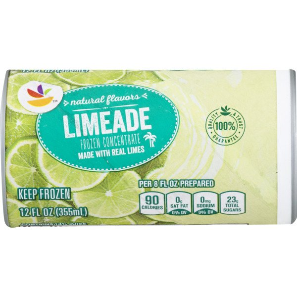 Giant Limeade Concentrate All Natural Frozen