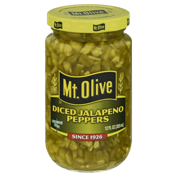 Mt Olive Diced Jalapeno Peppers