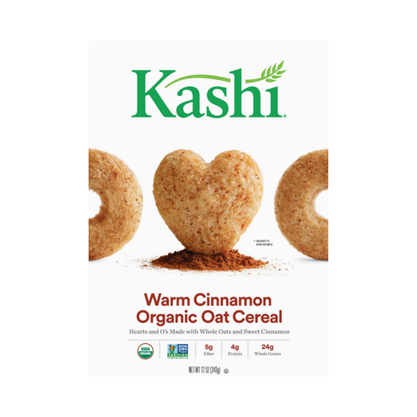 Kashi Heart To Heart Oat Cereal Warm Cinnamon Organic