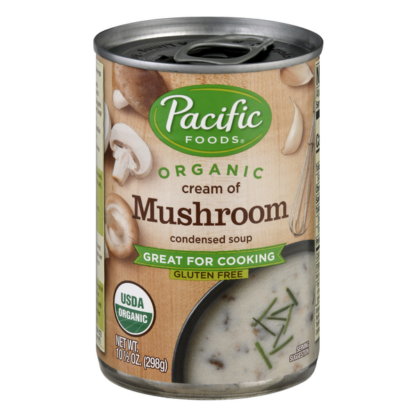 Pacific Foods Organic Cream of Mushroom Condensed Soup Gluten Free
