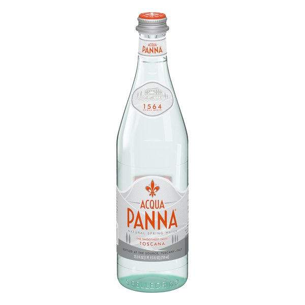 Acqua Panna Natural Spring Water (Glass Bottle)