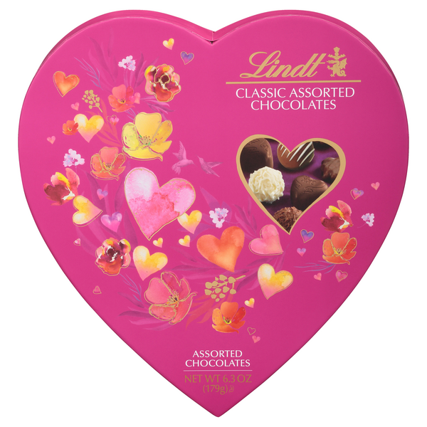 Lindt Valentine Heartbox Classic Assorted Chocolates
