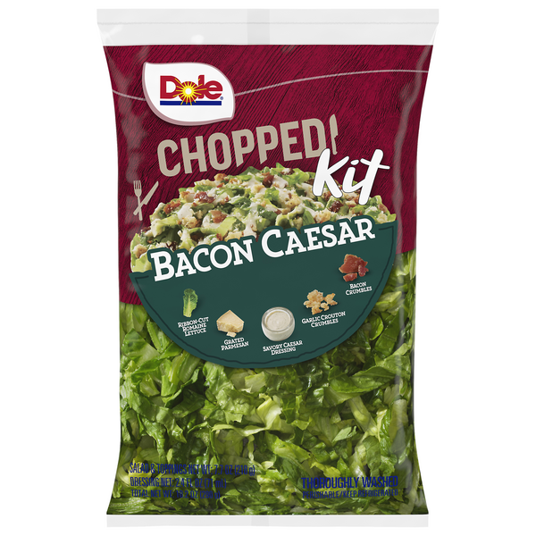 Dole Chopped Salad Kit Bacon Caesar