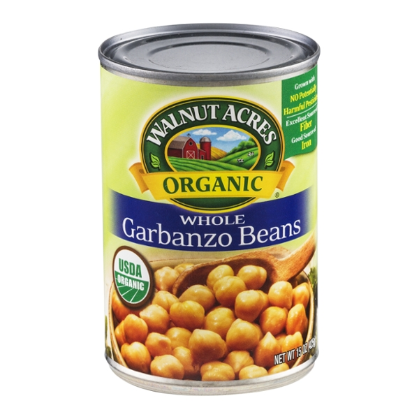 Walnut Acres Garbanzo Beans Whole Organic