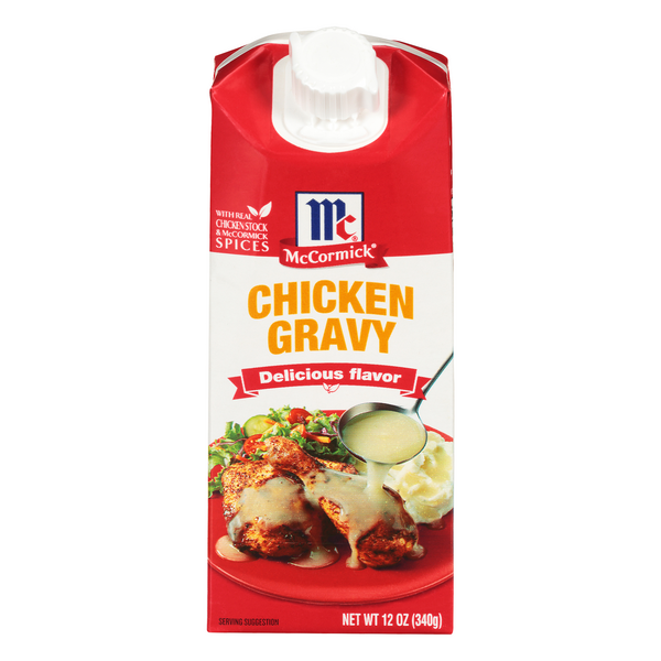 McCormick Simply Better Chicken Gravy Gluten Free