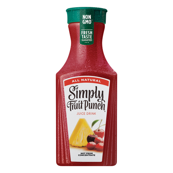 Simply All Natural Fruit Punch Juice Drink