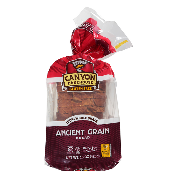Canyon Bakehouse Ancient Grain Bread Gluten Free Vegan
