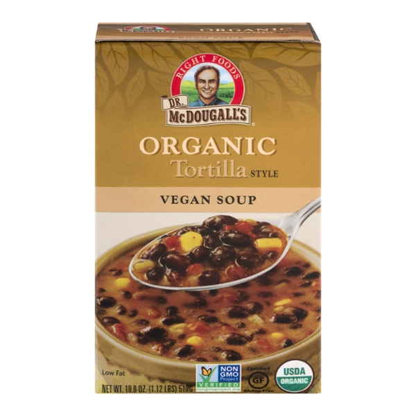Dr. McDougall's Right Foods Tortilla Style Soup Gluten Free Organic