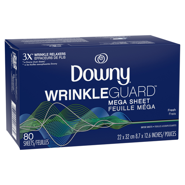 Downy WrinkleGuard Fresh Mega Dryer Sheets