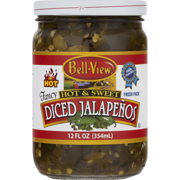 Bell-View Diced Jalapenos Fancy Hot & Sweet
