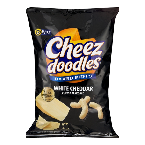 Wise Cheez Doodles Puffed White Cheddar