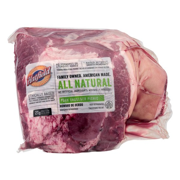 USDA Meat Pork Picnic Shoulder Roast Bone-In Fresh