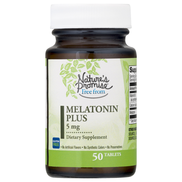 Nature's Promise Free From Melatonin + Vitamin B & Calcium 5mg Tablets