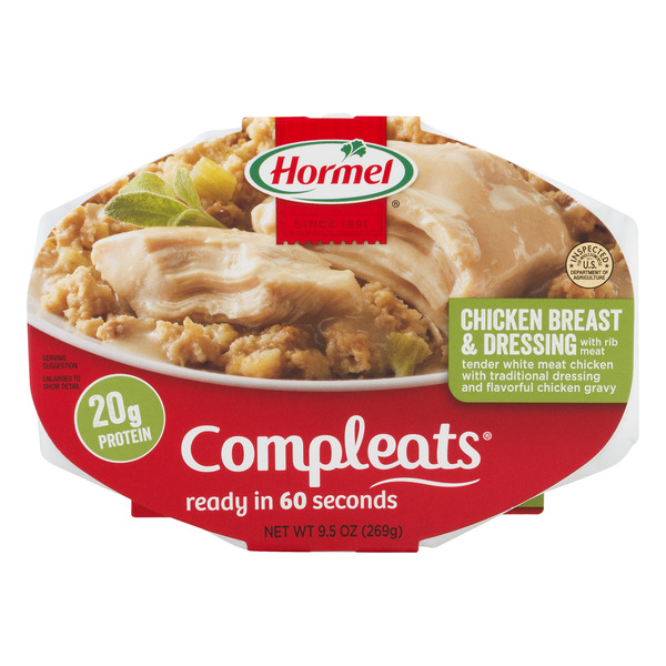 Hormel Compleats Homestyle Chicken Breast & Dressing Microwavable