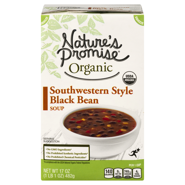 Nature's Promise Organic Southwestern Style Black Bean Soup