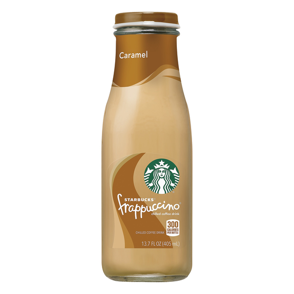 Starbucks Frappuccino Chilled Coffee Drink Caramel