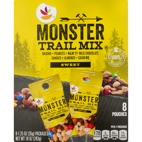 Stop & Shop Monster Trail Mix Sweet - 8 ct