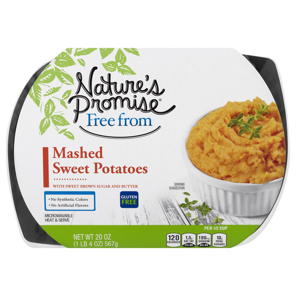 Nature's Promise Free from Mashed Sweet Potatoes Gluten Free