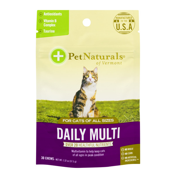 Pet Naturals Of Vermont Daily Multi Chews - 30 ct