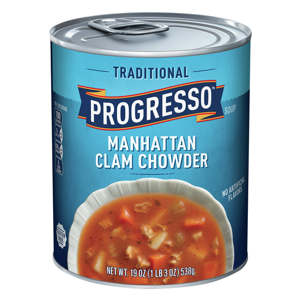 Progresso Traditional Manhattan Clam Chowder Soup
