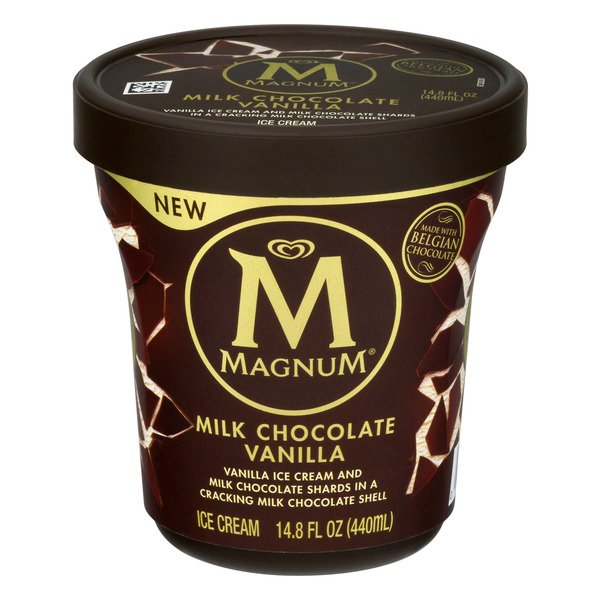 Magnum Classic Ice Cream Vanilla with Milk Chocolate Shards