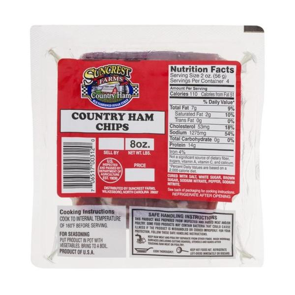 Suncrest Farms Country Ham Chips