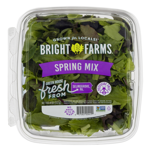 BrightFarms Local Spring Mix Lettuce Salad