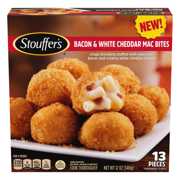 Stouffer's Bacon & White Cheddar Mac Bites - 13 ct