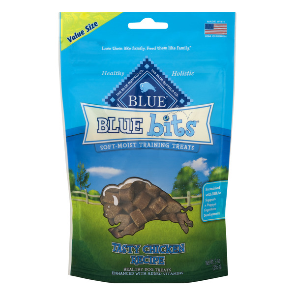 Blue Buffalo Dog Treats Blue Bits Tasty Chicken Recipe