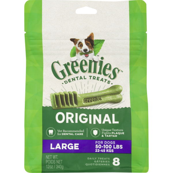 Greenies Daily Treats Original Large - 8 ct