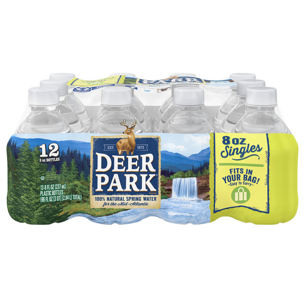 Deer Park Spring Water Natural - 12 pk