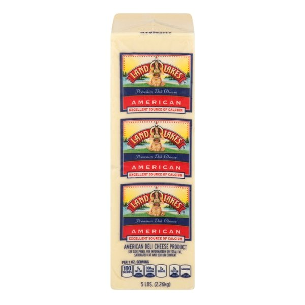 Land O Lakes Deli American Cheese Product White (Thin Sliced)