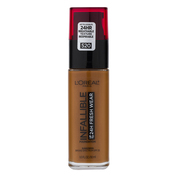 L'Oreal INFALLIBLE up to 24H Fresh Wear Foundation Sienna 520
