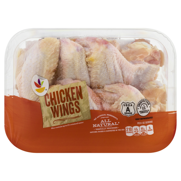 Store Brand Chicken Wings Uncooked Fresh