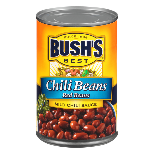 Bush's Best Chili Beans Red Beans in Chili Sauce Mild